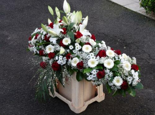 Dessus de cercueil w10